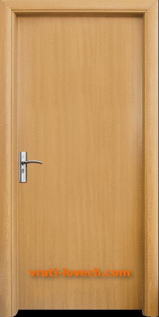Интериорна HDF врата, модел 030 Светъл дъб