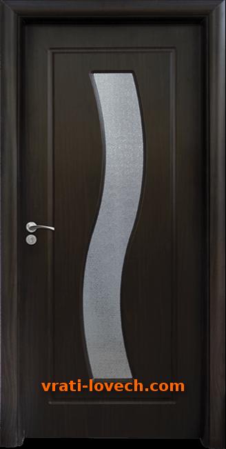 Интериорна HDF врата, модел 066 Венге