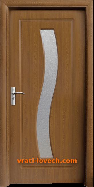 Интериорна HDF врата, модел 066 Златен дъб
