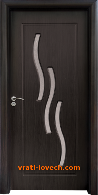 Интериорна HDF врата, модел 014 Венге
