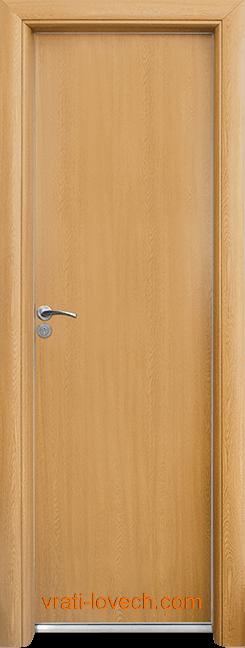 Алуминиева врата за баня – Стандарт цвят Светъл дъб