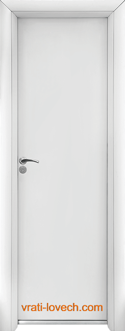Алуминиева врата за баня – Стандарт цвят Бял