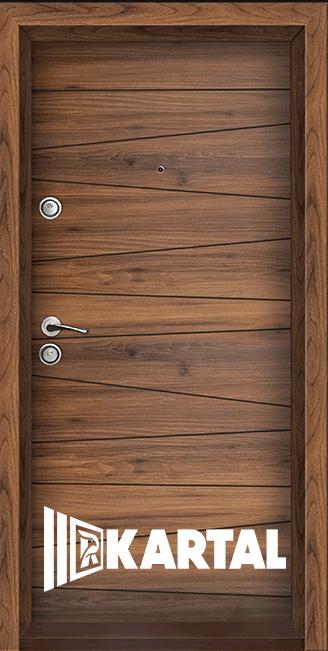 Блиндирана врата Серия Хармония Савана, облицована